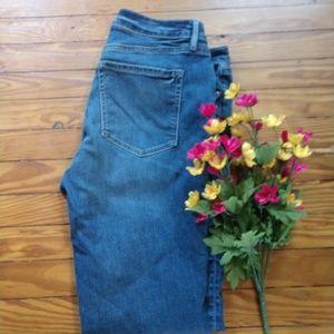 Loft Curvy Straight Leg Jeans Size 32/14